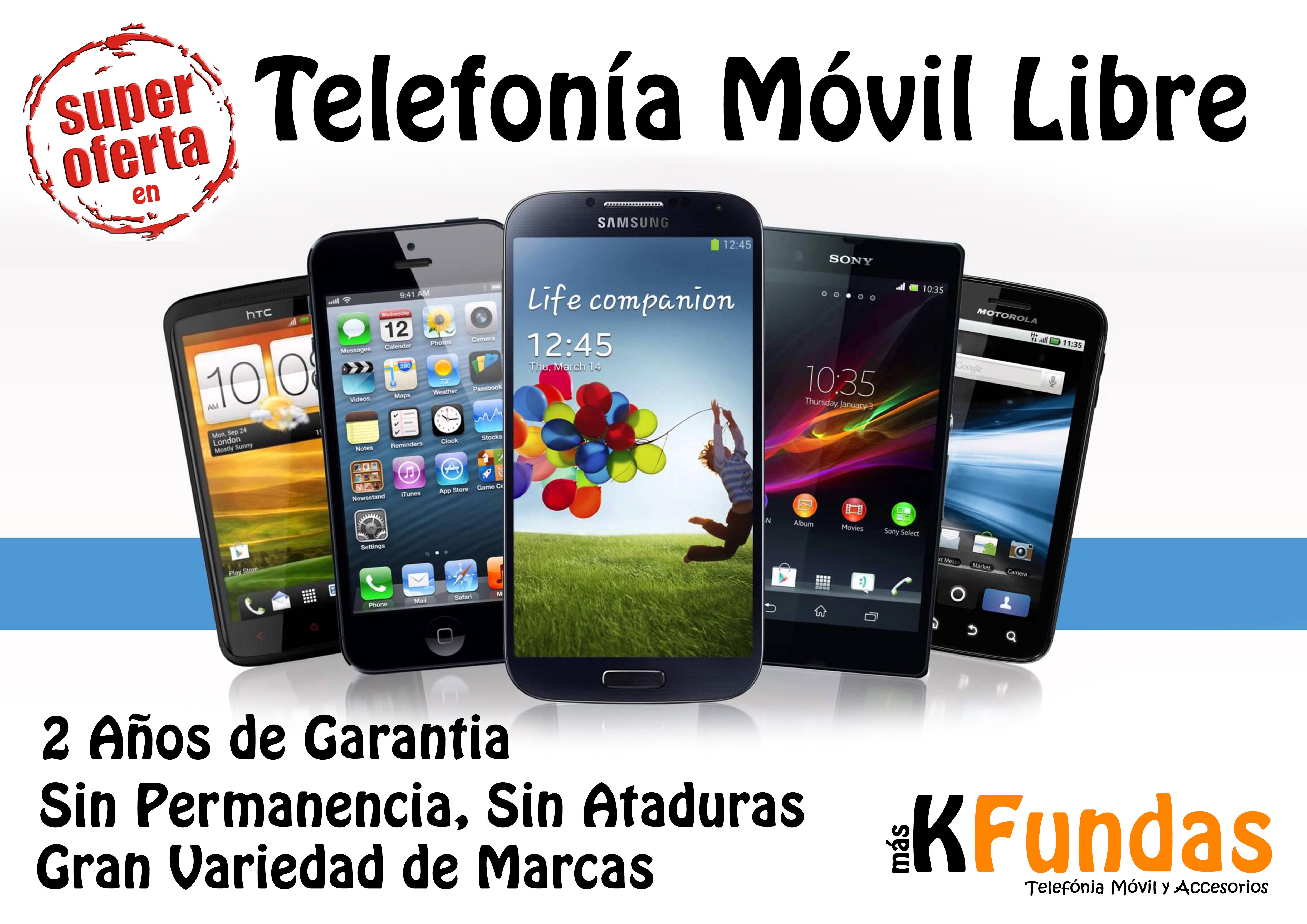 9ca9bc62b90 Oferta en Telefonía Móvil Libre - MásKFundas Plasencia y Navalmoral ...